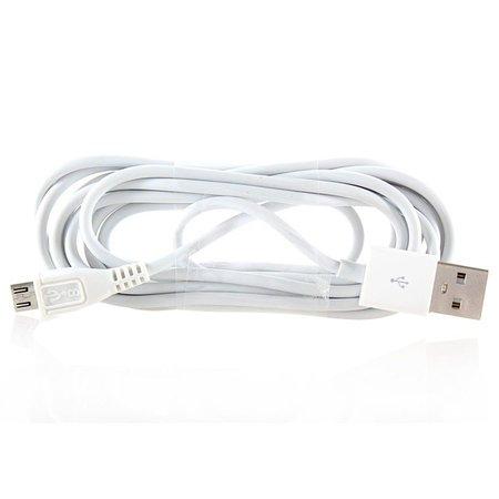 Micro USB Data Kabel Wit 1 Meter