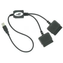 USB naar 2x Playstation 2 Converter Kabel