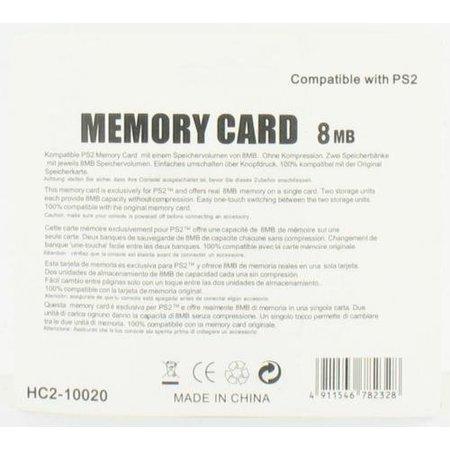8MB Geheugenkaart voor Playstation 2
