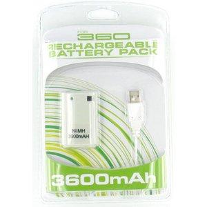 Accu + Lader voor XBOX 360 Controller
