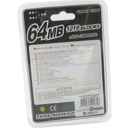 Geheugenkaart 64 MB Paars voor GameCube en Wii