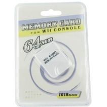 Geheugenkaart 64 MB voor GameCube en Wii
