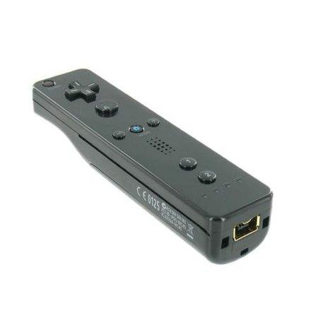 Afstandsbediening voor Wii en Wii U Zwart
