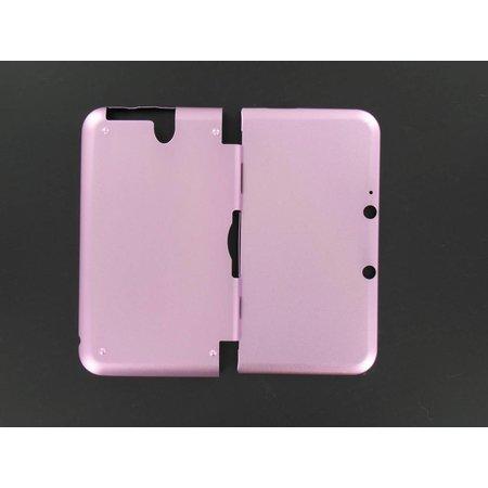 Aluminium Case Licht Roze voor 3DS XL