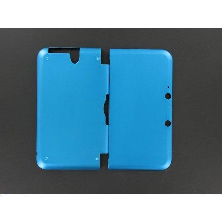 Aluminium Case Licht Blauw voor 3DS XL