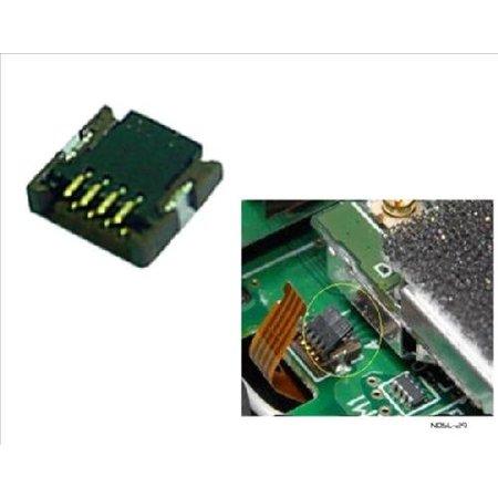 P6 Connector Zwart voor DSLite