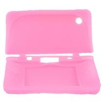 Siliconen Beschermhoes Roze voor DSi XL