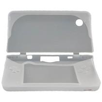 Siliconen Beschermhoes Wit / Transparant voor DSi XL