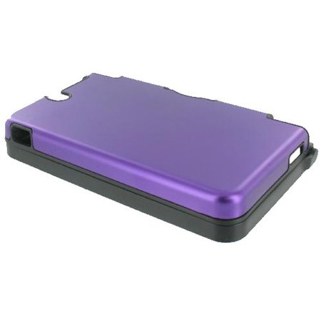 Aluminium beschermhoes voor de Nintendo DSi XL - Paars
