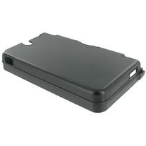 Zwarte aluminium beschermhoes voor de Nintendo DSi XL