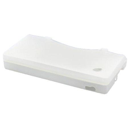 Siliconen Beschermhoes Wit / Transparant V1 voor DSi