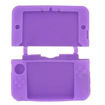 Siliconen Beschermhoes Paars voor 3DS XL