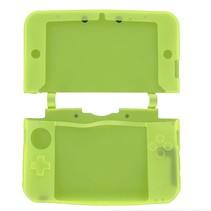 Siliconen Beschermhoes Geel voor 3DS XL