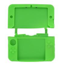 Siliconen Beschermhoes Groen voor 3DS XL