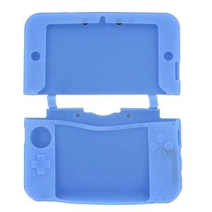 Siliconen Beschermhoes Blauw voor 3DS XL