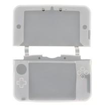 Siliconen Beschermhoes Wit / Transparant voor 3DS XL