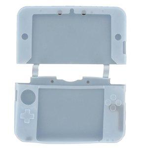 Siliconen Beschermhoes Licht Blauw voor 3DS XL