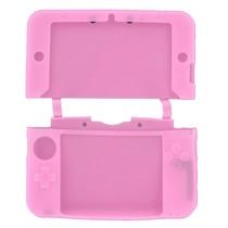 Siliconen Beschermhoes Roze voor 3DS XL