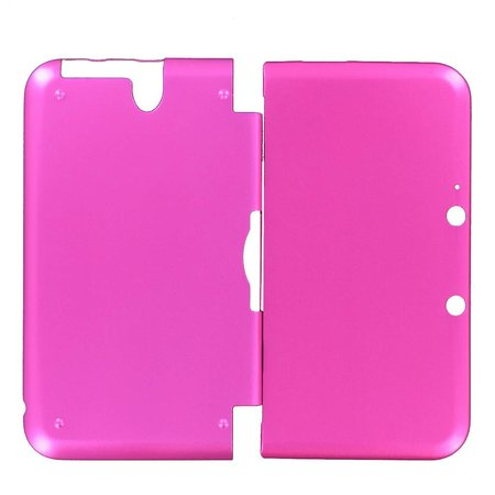 Aluminium Case Roze voor 3DS XL