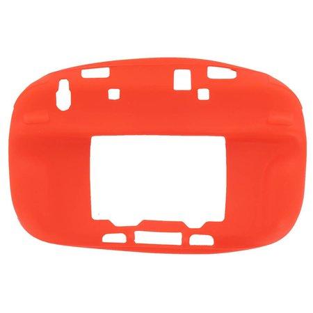 Siliconen Hoes Rood voor Wii U Gamepad