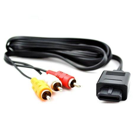 AV Kabel voor de  GameCube, SNES en N64