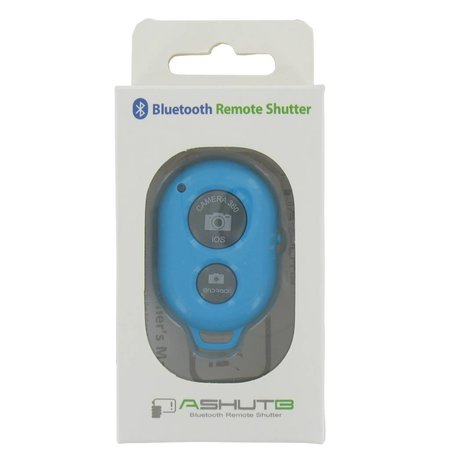 Bluetooth Camera Remote Shutter Blauw