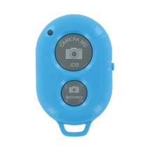 Bluetooth Camera Remote Shutter Blauw