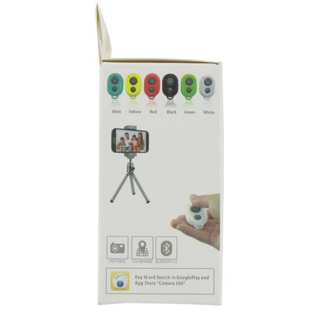 Bluetooth Camera Remote Shutter Wit