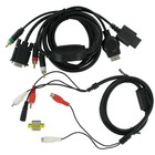 VGA HD AV Kabel voor Playstation 3 / 4 en Wii / Wii U