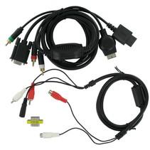 VGA HD AV Kabel voor Playstation 3 / 4 en Wii / Wii U