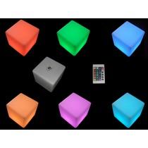 LED Decoratie kubus met RGB Kleuren en Afstandsbediening