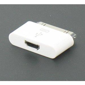 Micro USB naar Apple 30 pins Connector