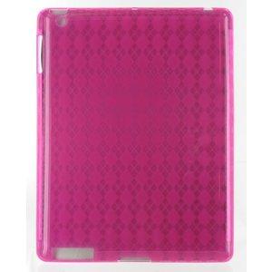 Siliconen Beschermhoes Roze voor de iPad 2 / 3