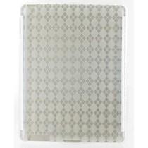 Siliconen Beschermhoes Wit / Transparant voor de iPad 2 / 3