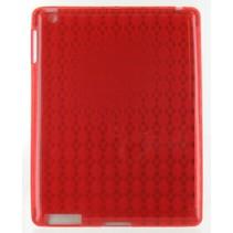Siliconen Beschermhoes Rood voor de iPad 2 / 3
