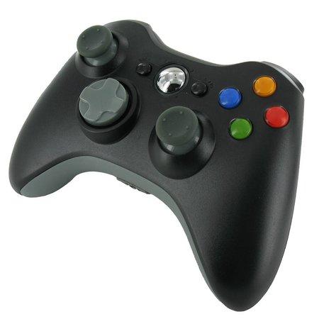 Draadloze Controller Zwart voor XBOX 360