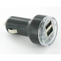 Autolader met 2 USB-poorten – 2.1A – 12V