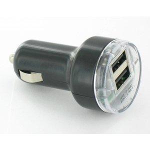 Auto USB Lader 2 Poort 2A 12V
