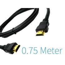HDMI naar HDMI Kabel 0.75 Meter