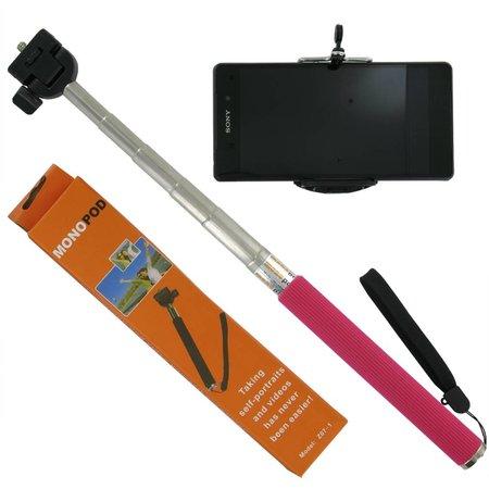Selfie Statief voor Smartphones Roze Stick