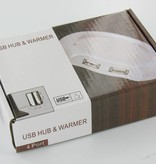 USB Koffiekop Verwarmer met 4 poort USB HUB