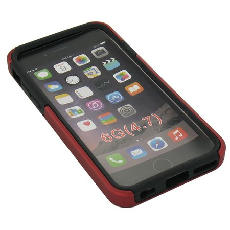 iPhone 6 Bescherm Hoesje Rood