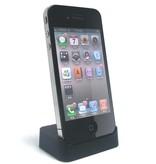 iPhone 4 Docking Station Zwart Desktop Cradle
