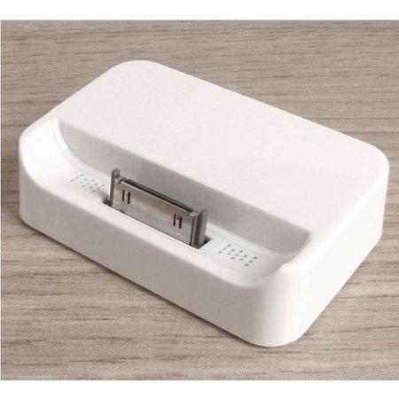 iPhone 4 Docking Station Wit Desktop Cradle