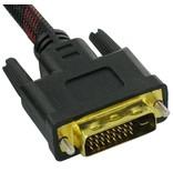 DVI-D Dual Link 24+1 Kabel 1,5 Meter