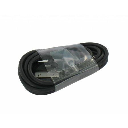 USB Data en Laadkabel voor de iPhone, iPad en iPod Zwart
