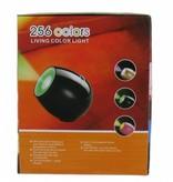 LED Multi Colors Moodlight Projectie Lamp Zwart