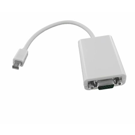 Mini DisplayPort male naar VGA female Adapter