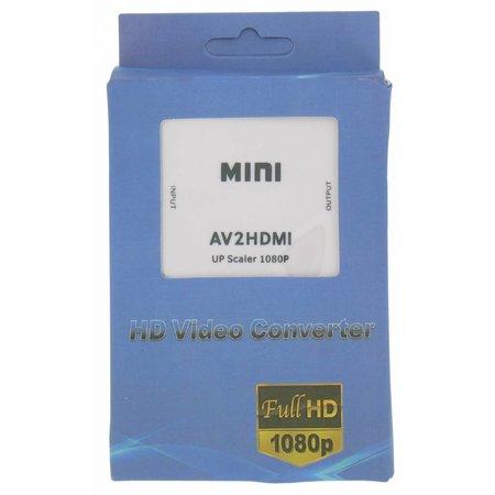 Mini AV naar HDMI converter Upscaler