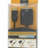 HDMI naar VGA + Audio Converter Kabel